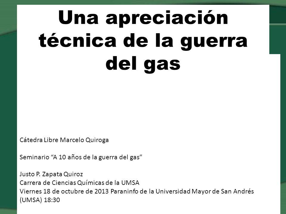 Exportar gas como materia prima es la política imperante desde Sanchez de Lozada y ¡PROFUNDIZADA.