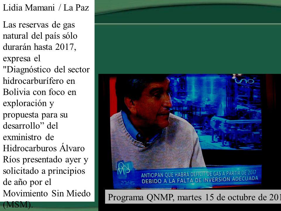 SEGÚN YPFB NO SE PAGARÍA IMPUESTOS POR 3 Y 5 AÑOS EN CAMPOS NUEVOS Página 7, martes, 10 de septiembre de 2013 Yacimientos Petrolíferos Fiscales Bolivi