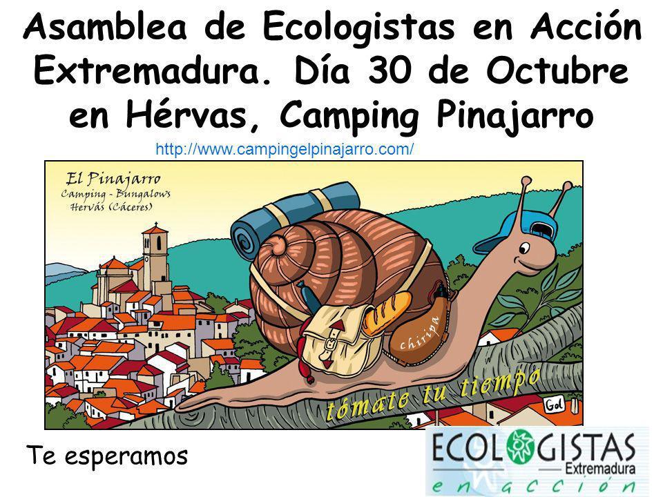 Asamblea de Ecologistas en Acción Extremadura.
