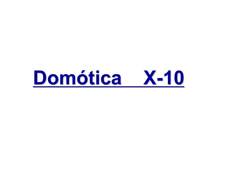 Domótica X-10