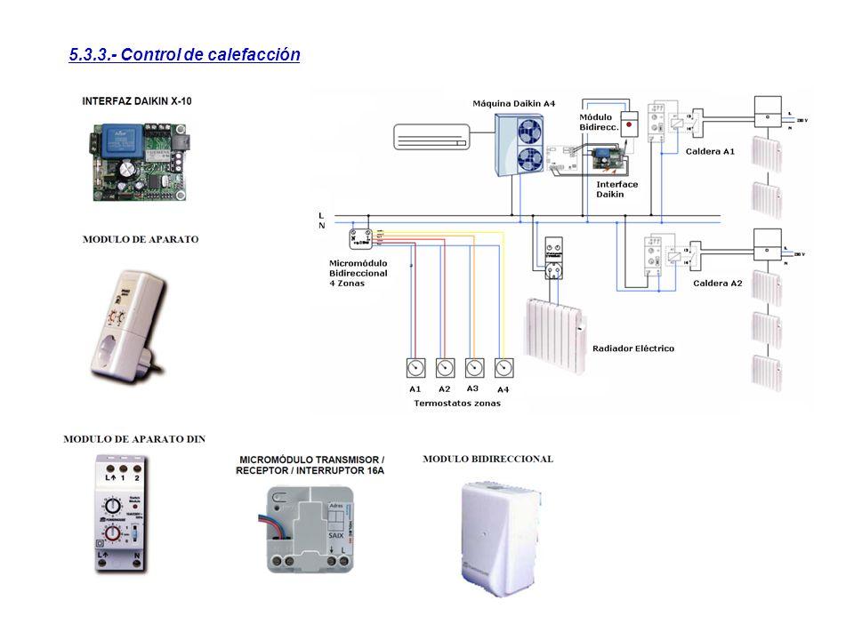 5.3.3.- Control de calefacción