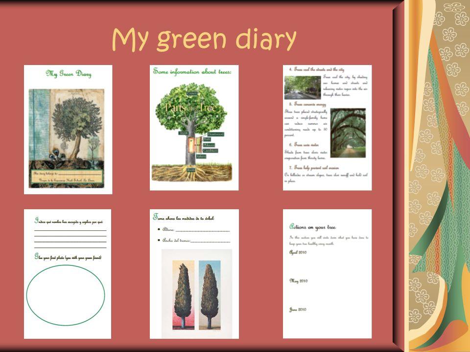 My green diary
