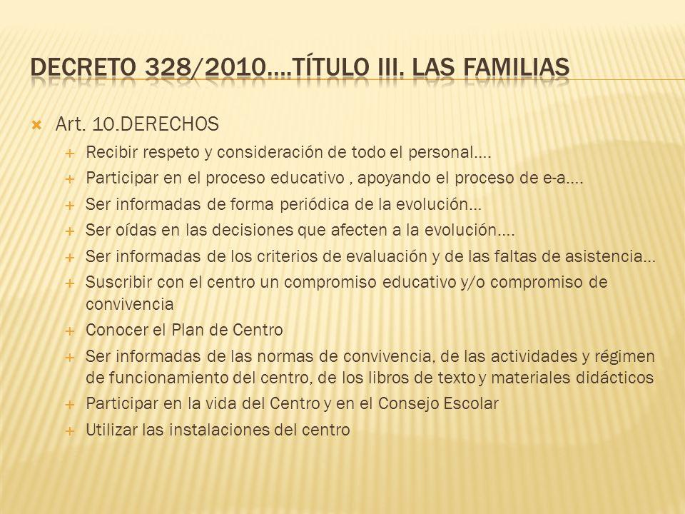 Informar al alumnado sobre el desarrollo de su aprendizaje así como a sus padres, madres o repr. legales Facilitar la cooperación educativa entre el p