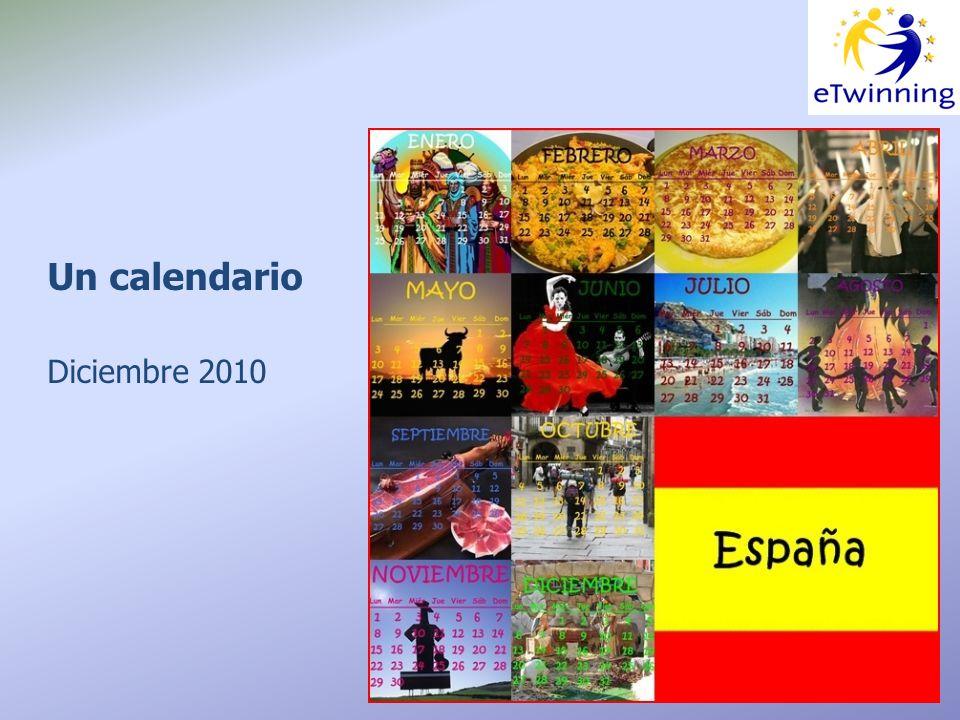 Un calendario Diciembre 2010