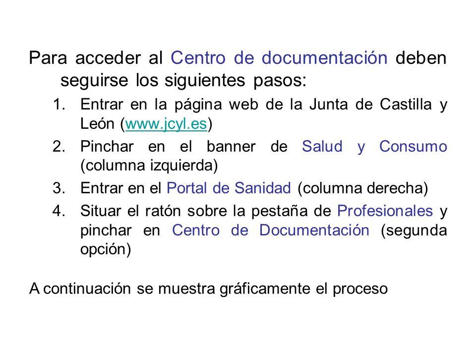 Las bases de datos son otro recurso del Centro de Documentación.