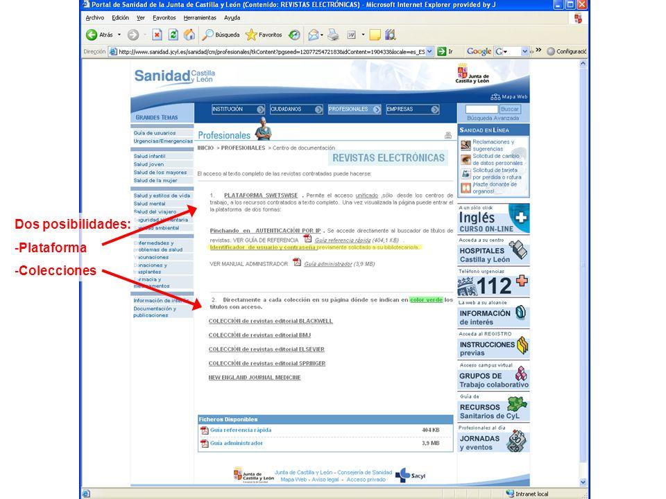 Para entrar en la plataforma SWETSWISE es necesario pulsar en Autenticación por IP