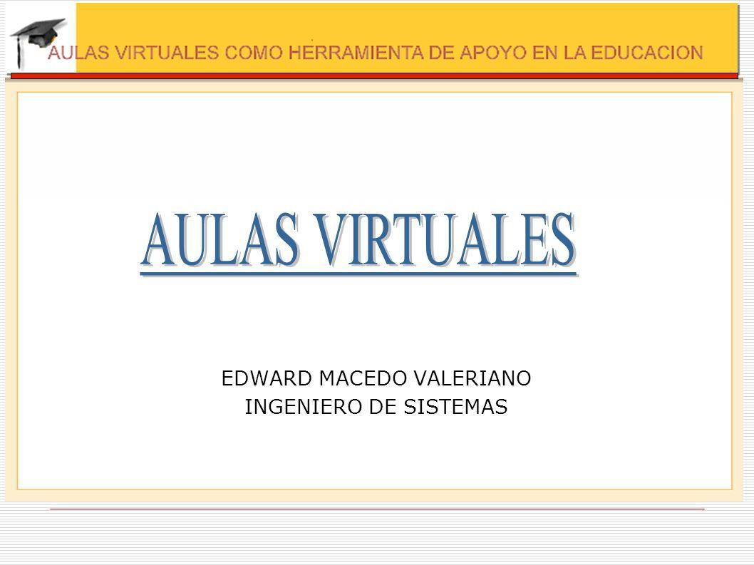 EDWARD MACEDO VALERIANO INGENIERO DE SISTEMAS