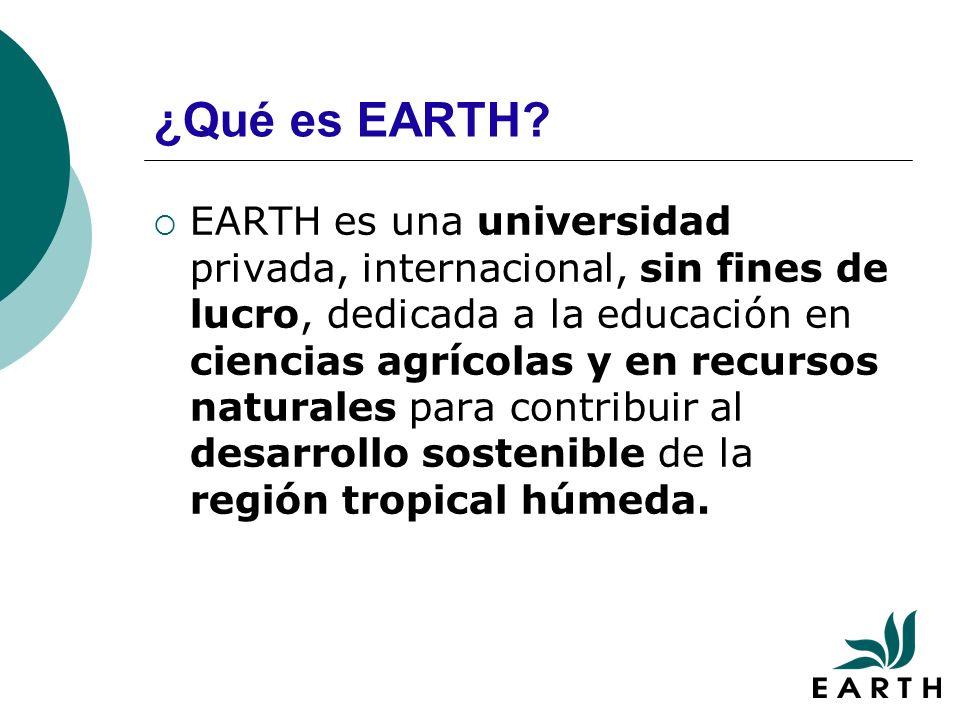 ¿Qué es EARTH.