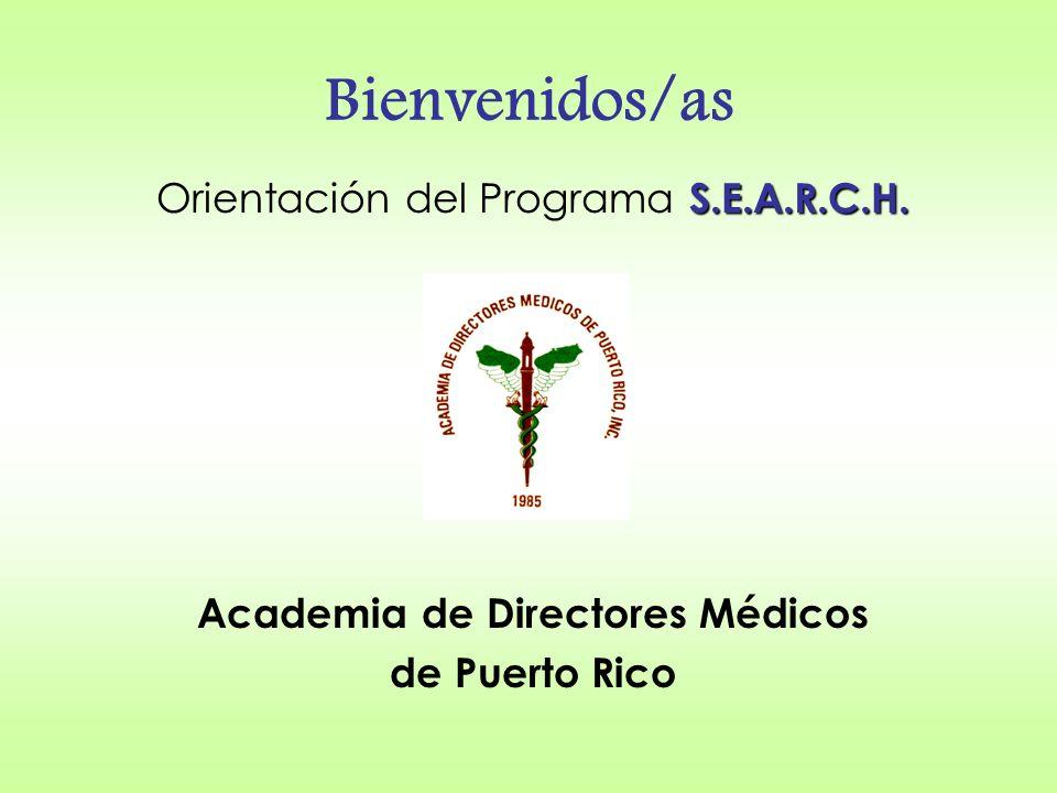 Academia de Directores Medicos de Puerto Rico Nuestra Historia La Academia de Directores Médicos de Puerto Rico, Inc.