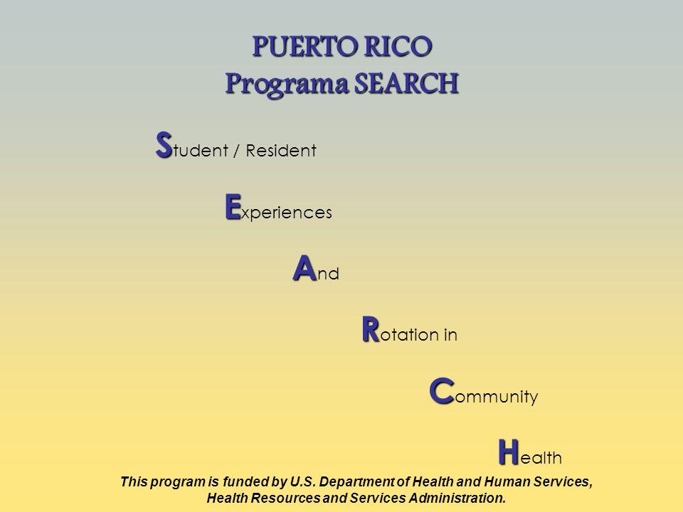 Objetivo Principal Contribuir al reclutamiento y retención de profesionales de la salud, en donde estos son limitados y escasos conocidos como Health Professional Shortage Areas (HPSAs)