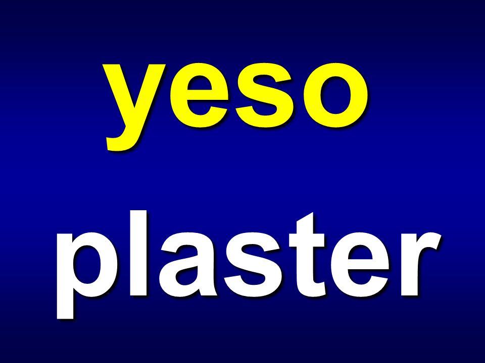 yeso plaster