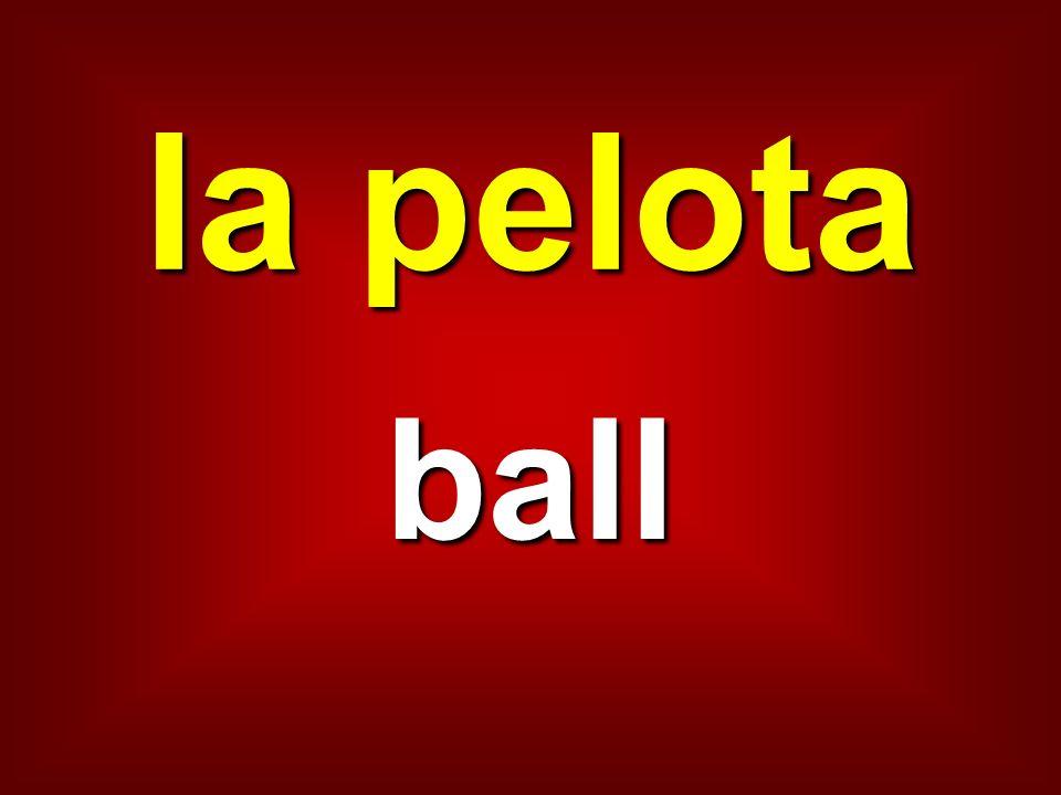 la pelota ball