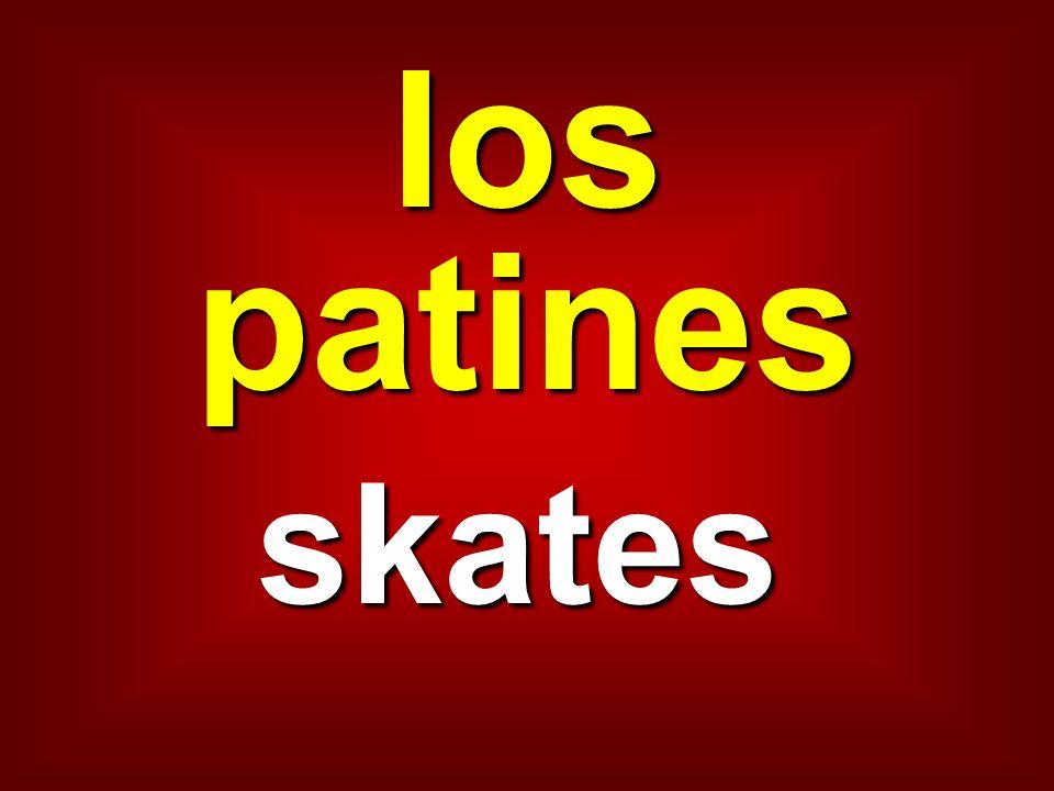 los patines skates