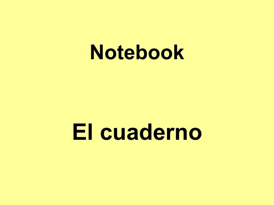 Notebook El cuaderno