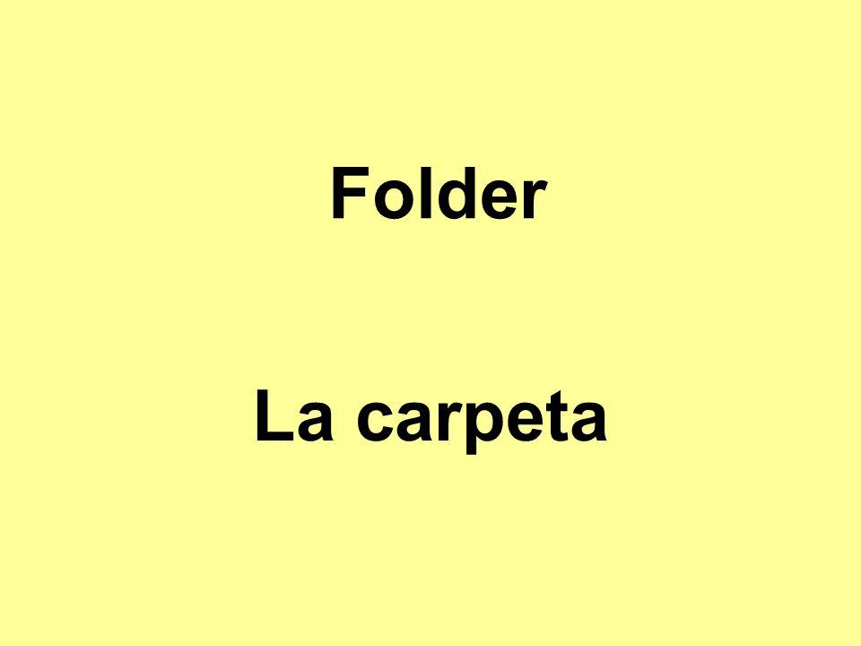 Folder La carpeta