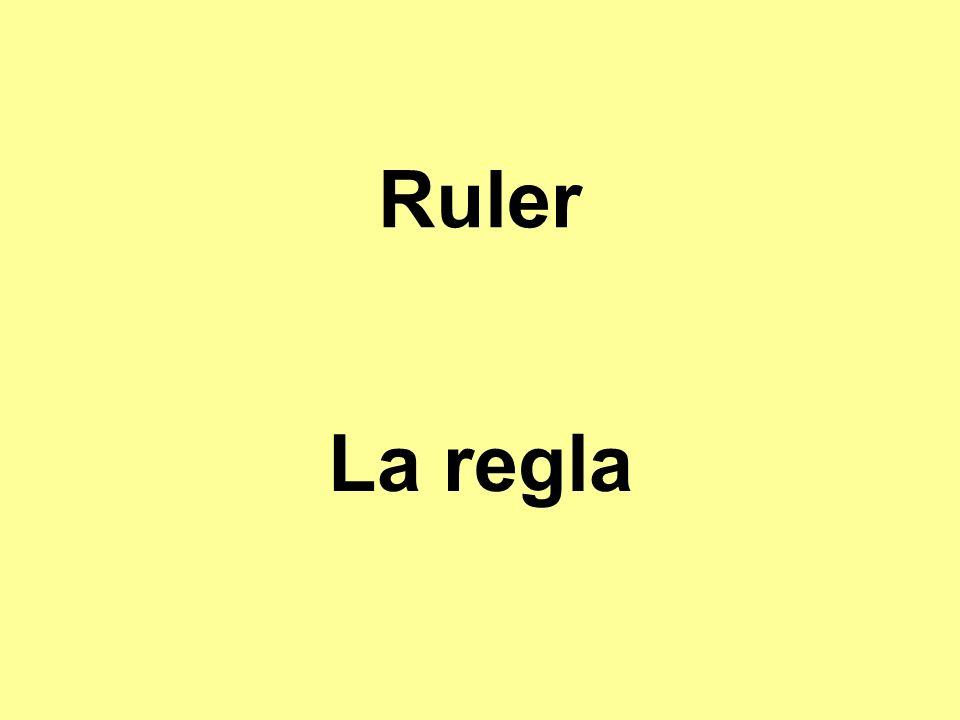 Ruler La regla