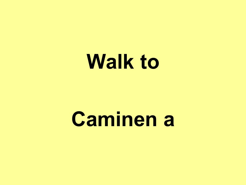 Walk to Caminen a