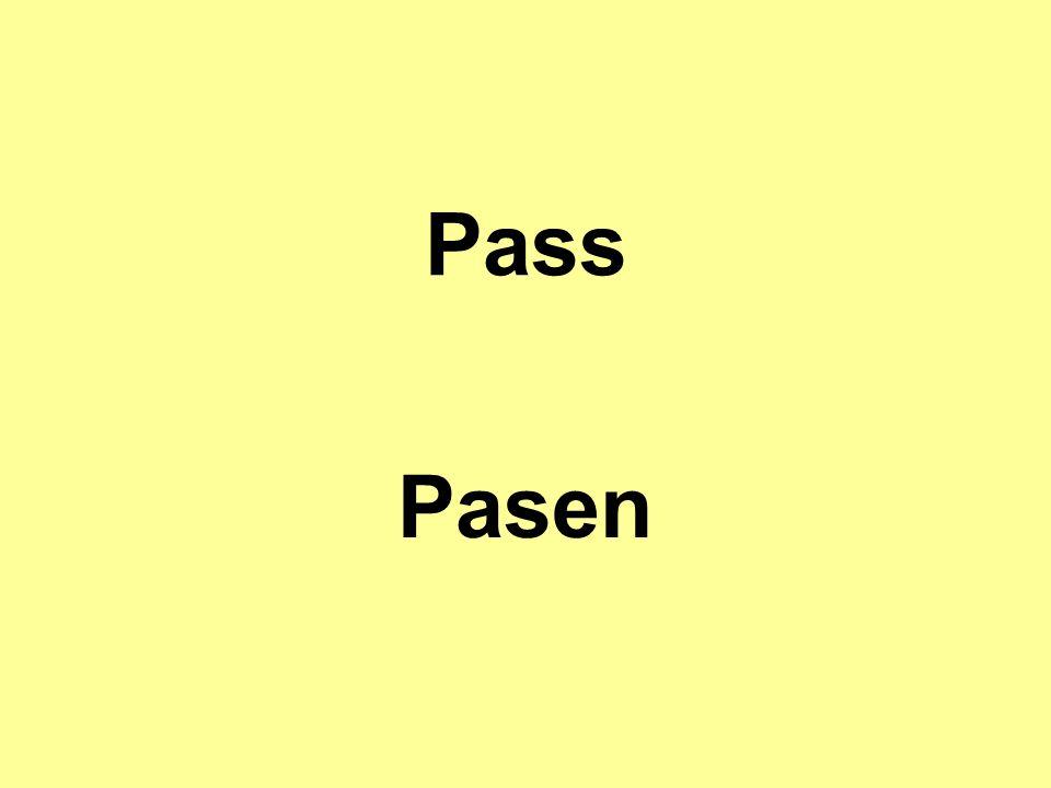 Pass Pasen