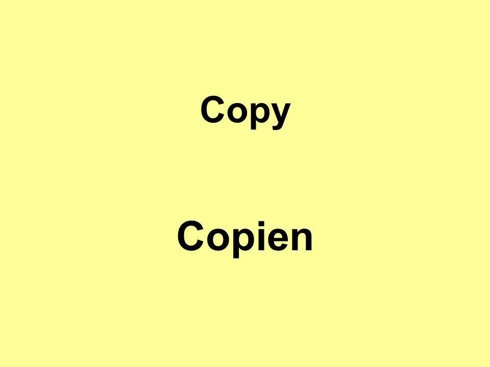Copy Copien