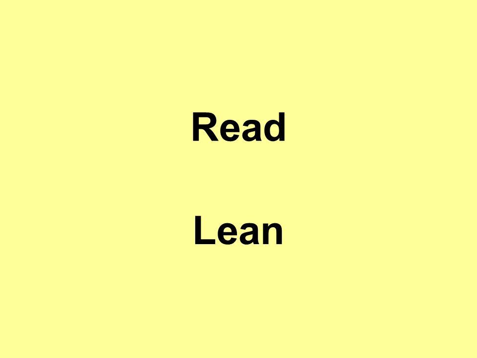 Read Lean