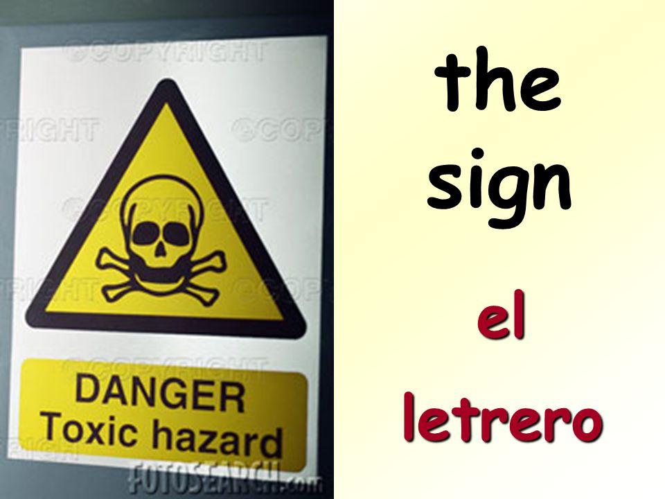 elletrero the sign