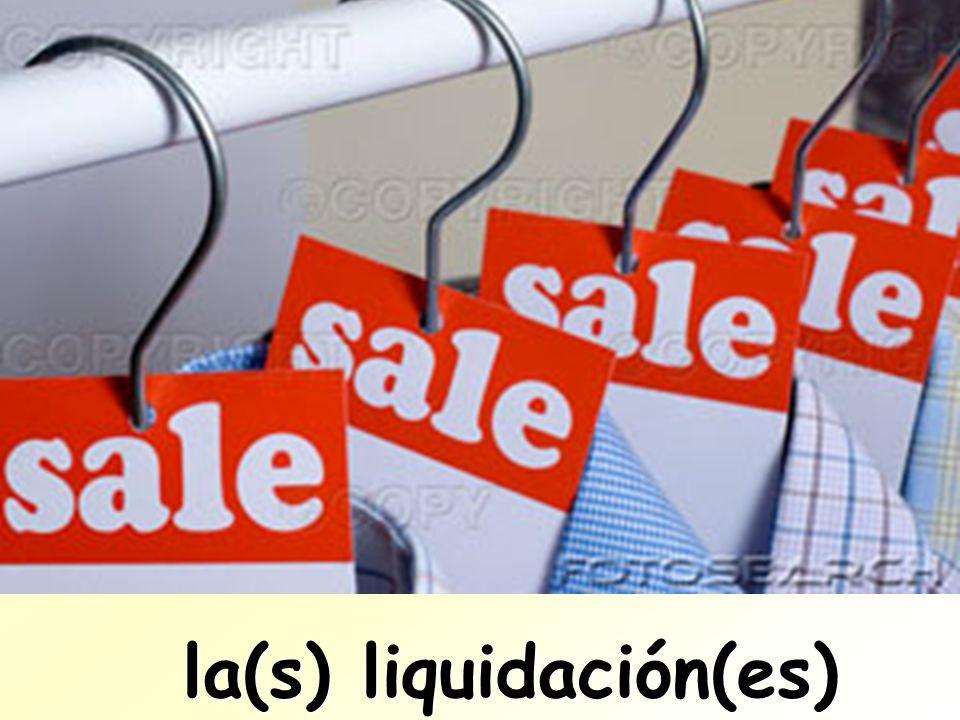 la(s) liquidación(es) la(s) liquidación(es)