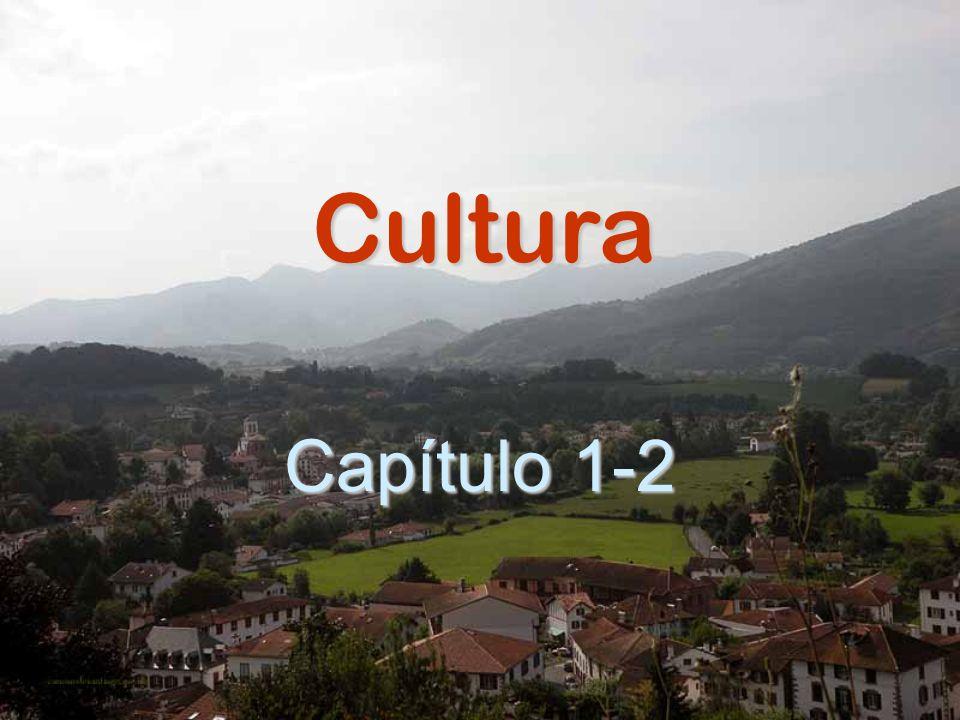Cultura Capítulo 1-2