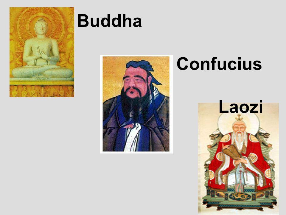 Buddha Confucius Laozi