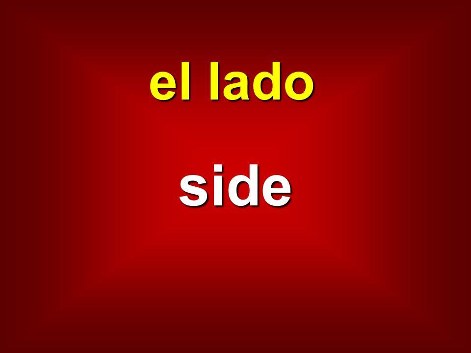 el lado side