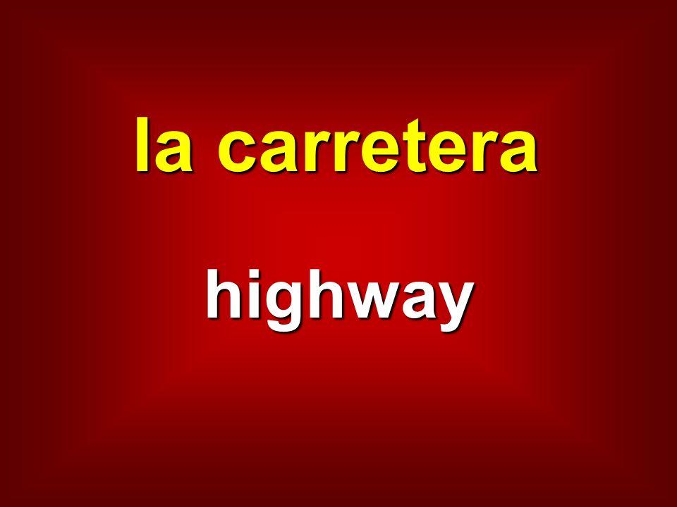 la carretera highway