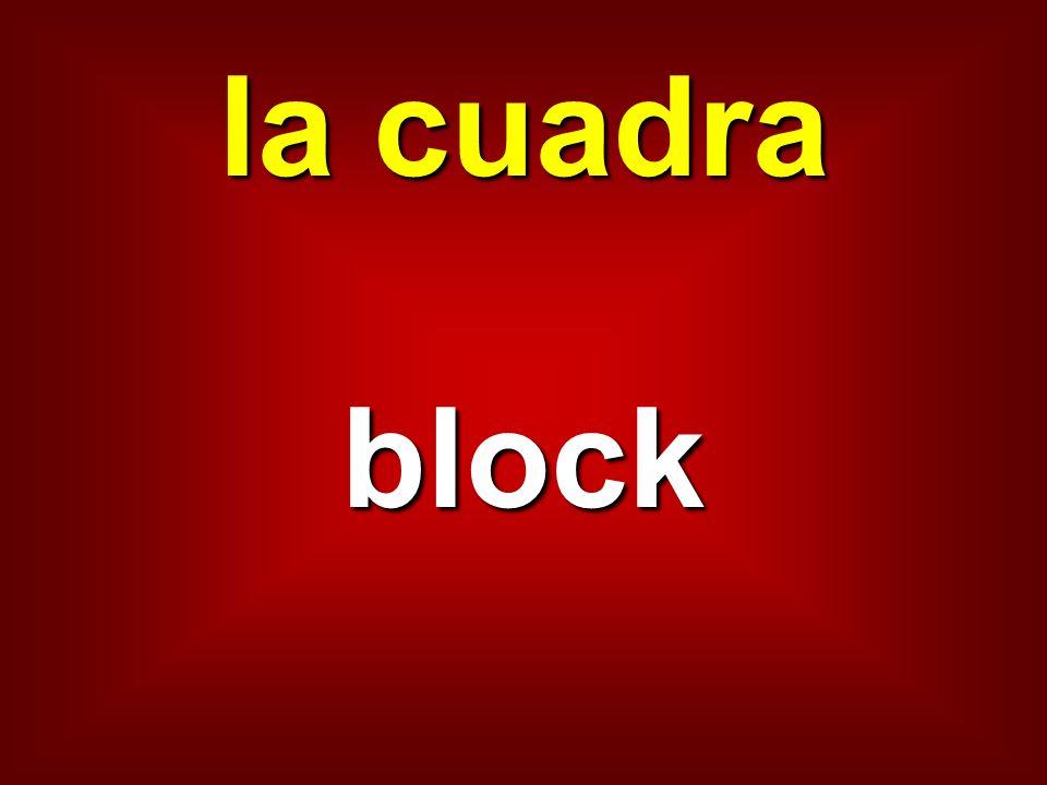la cuadra block