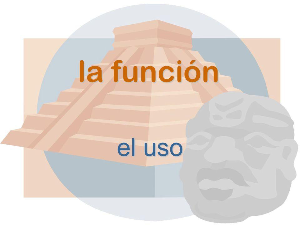 la función el uso