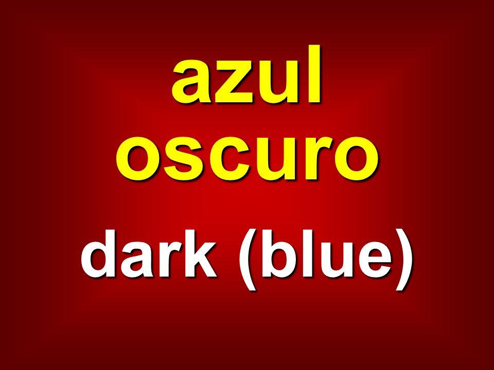 azul oscuro dark (blue)