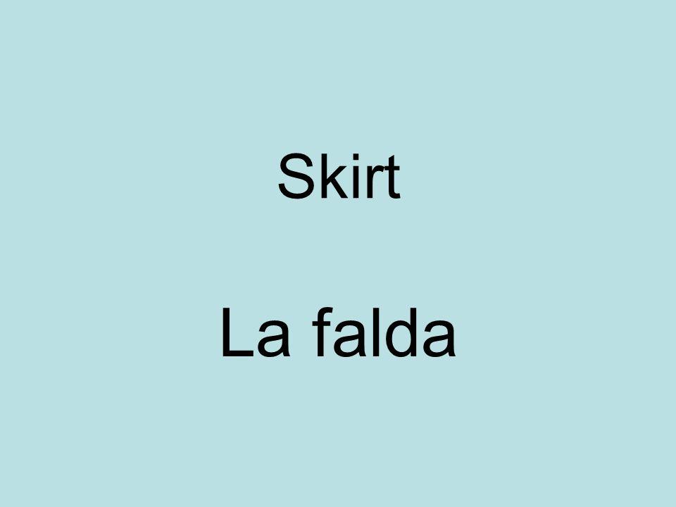 Skirt La falda