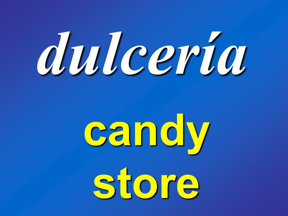 dulcería candy store