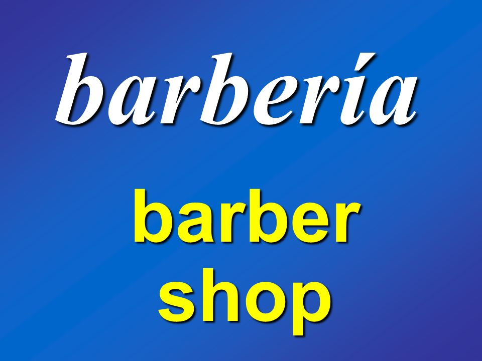 barbería barber shop