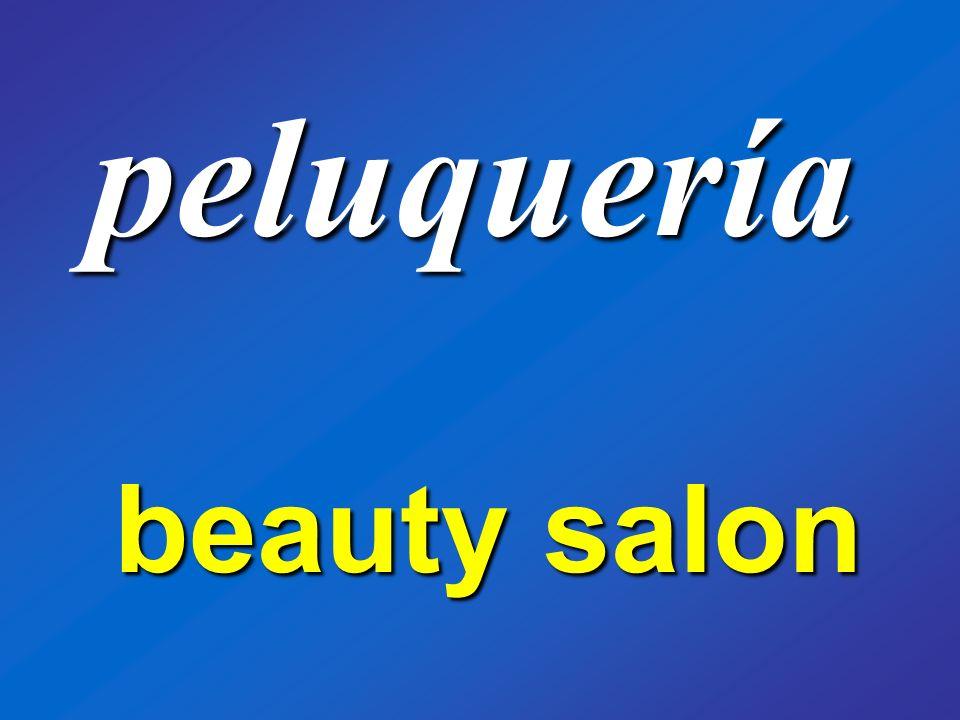 peluquería beauty salon