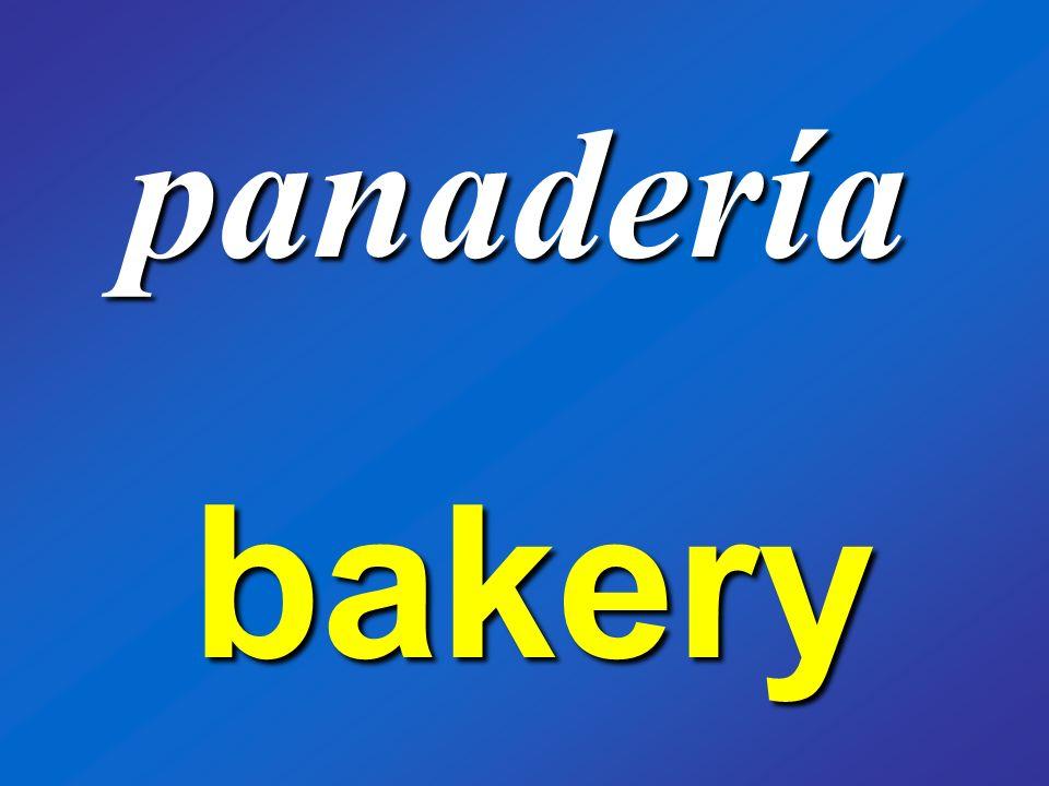 panadería bakery