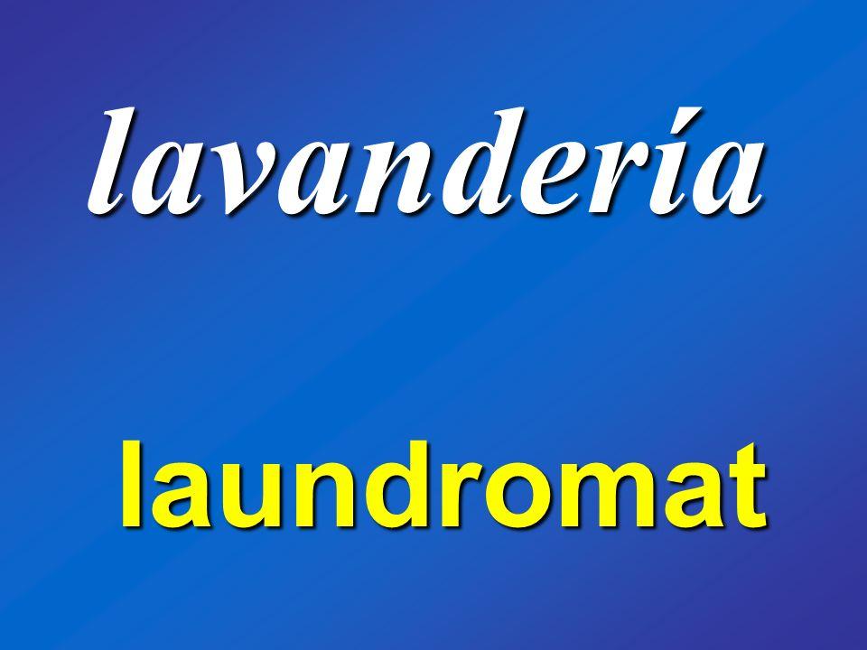 lavandería laundromat