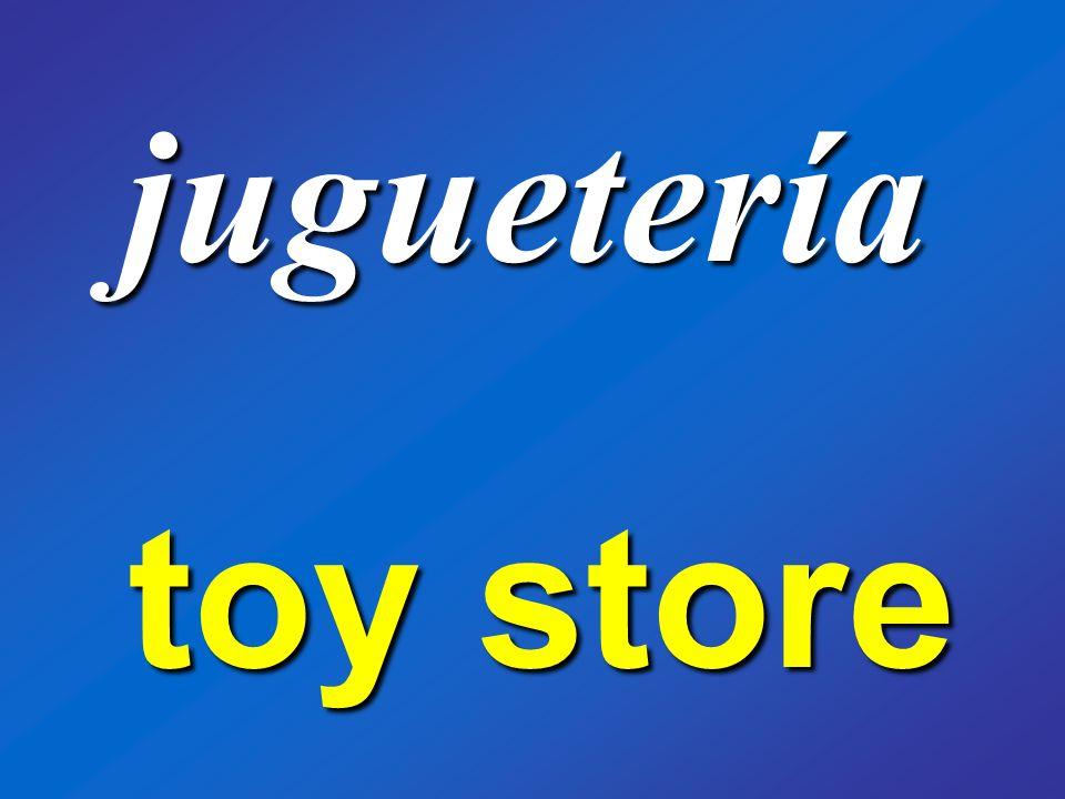 juguetería toy store