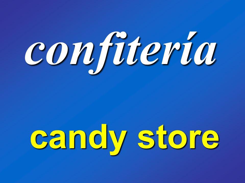 confitería candy store