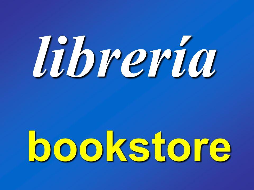 librería bookstore