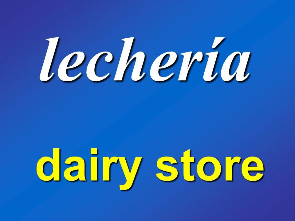 lechería dairy store