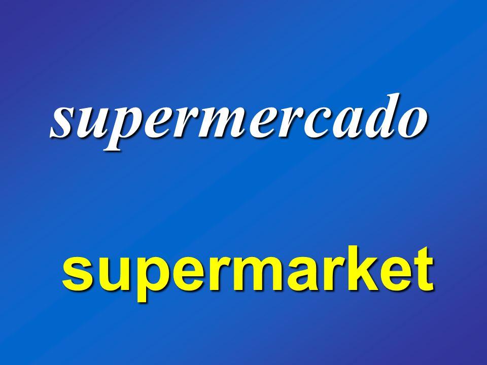 supermercado supermarket