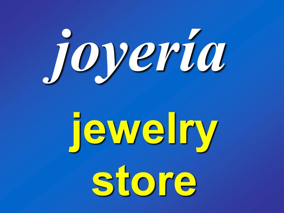 joyería jewelry store