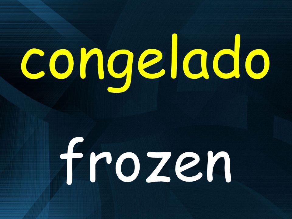 congelado frozen