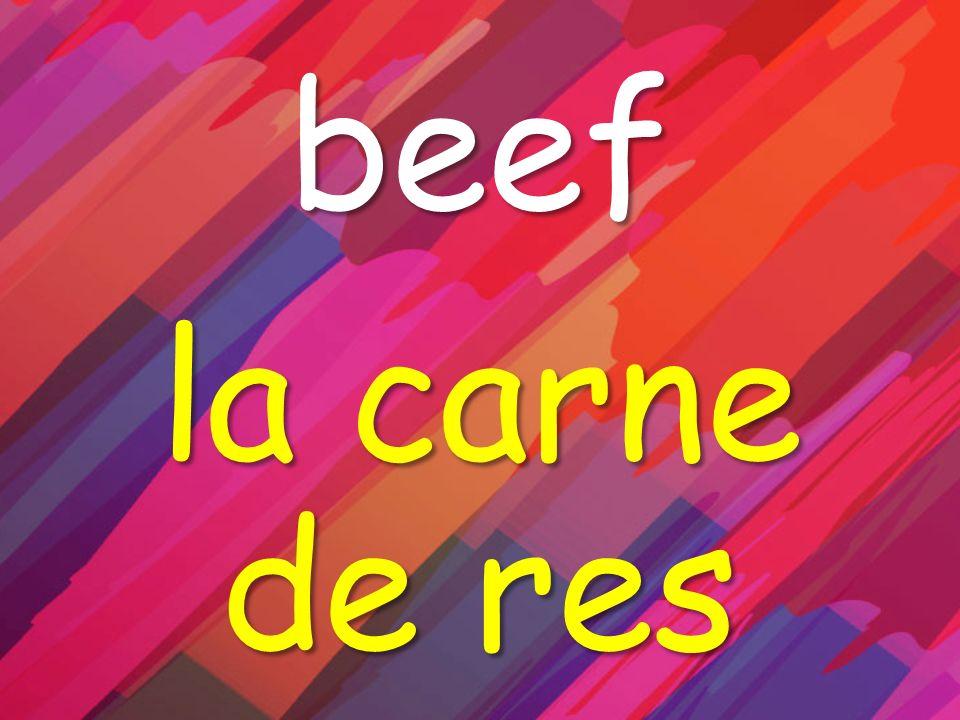 beef la carne de res