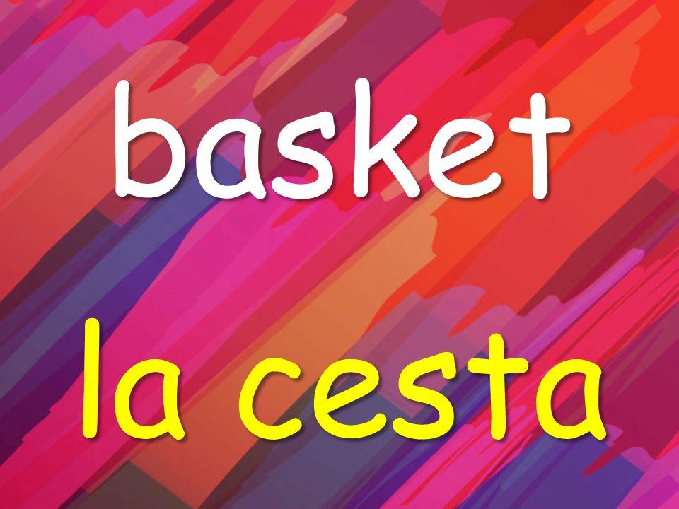 basket la cesta