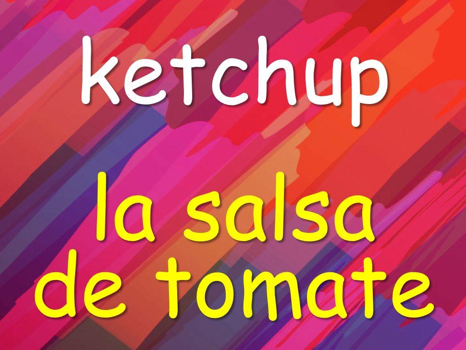 ketchup la salsa de tomate