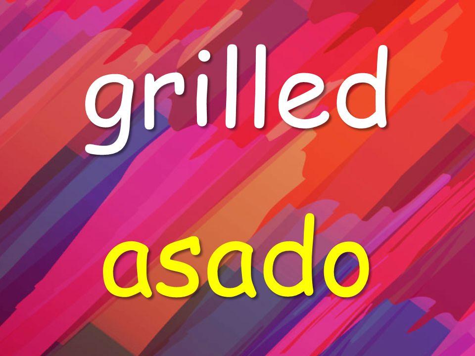 grilled asado